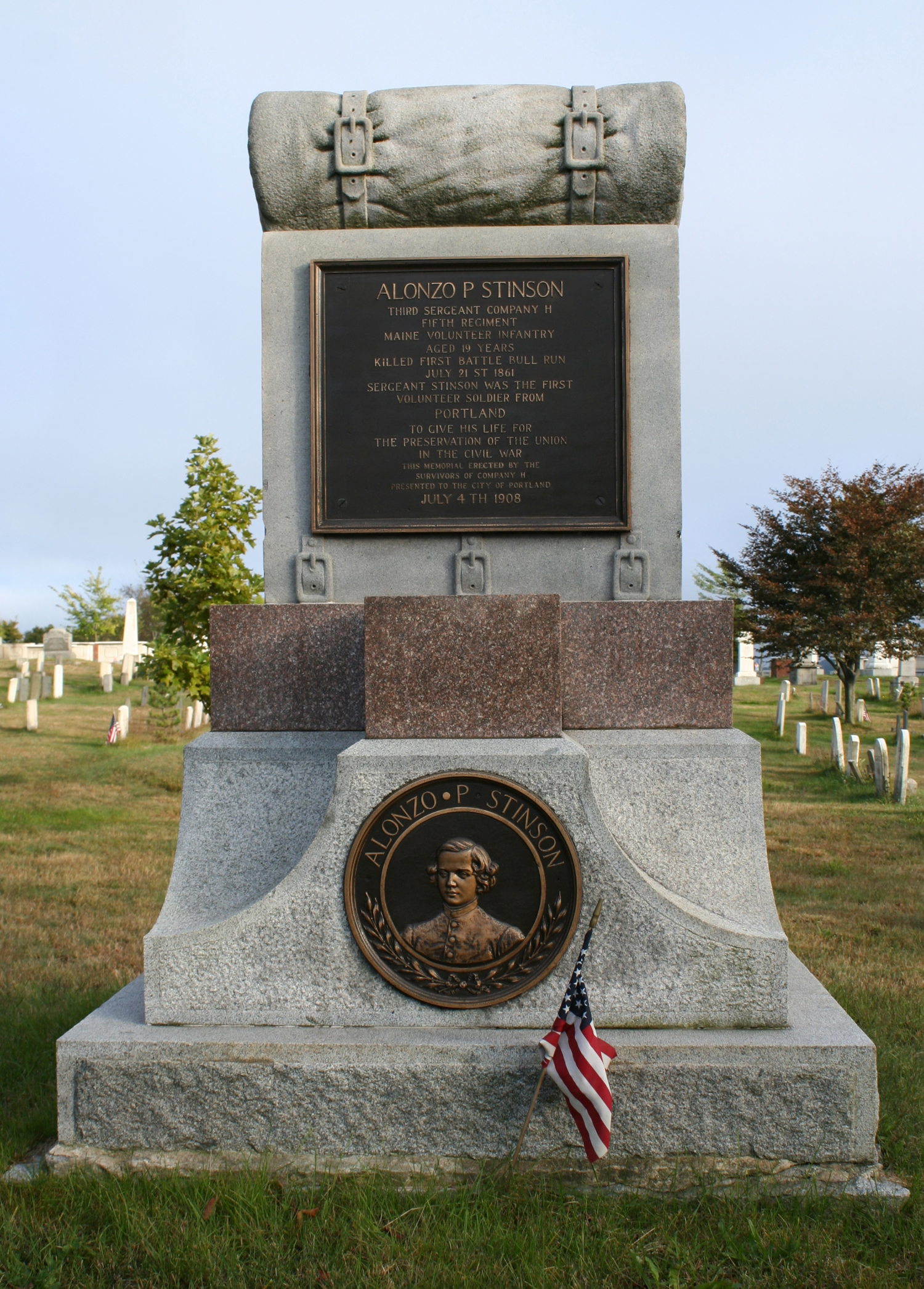 Civil War Monument, Stinson Memorial